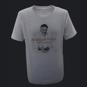 Andrea Bocelli (Christmas Album) White T-Shirt