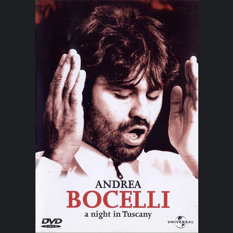 Andrea Bocelli (A Night In Tuscany) DVD