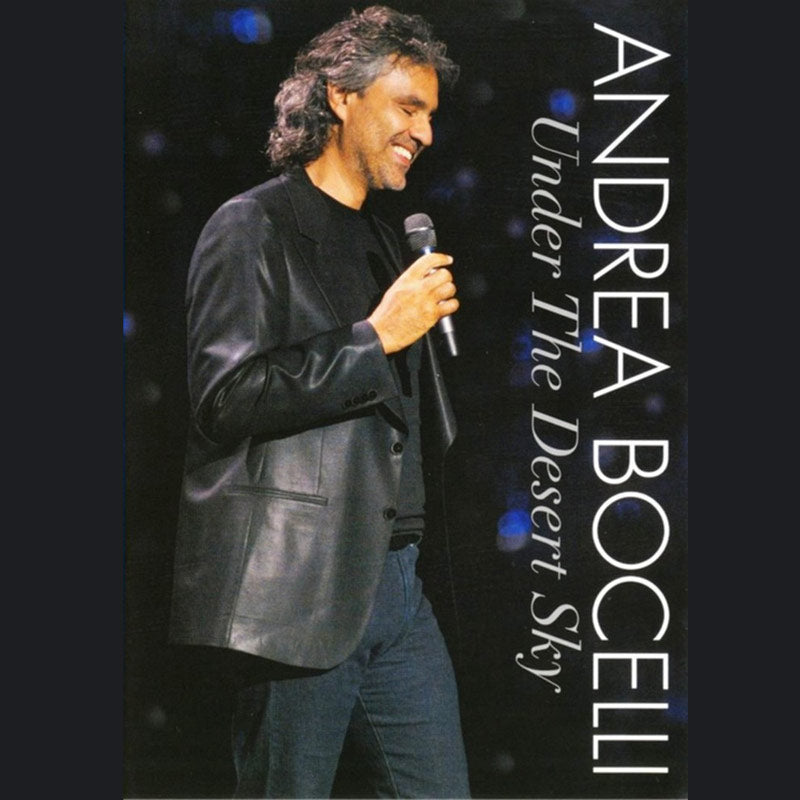 Andrea Bocelli (Under The Desert Sky) DVD