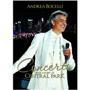 Andrea Bocelli (Live in Central Park) DVD