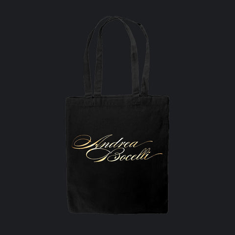Andrea Bocelli (Logo) Shopper Bag