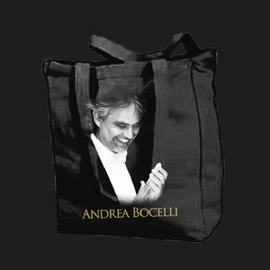 Andrea Bocelli (Applauso) Shopper Bag