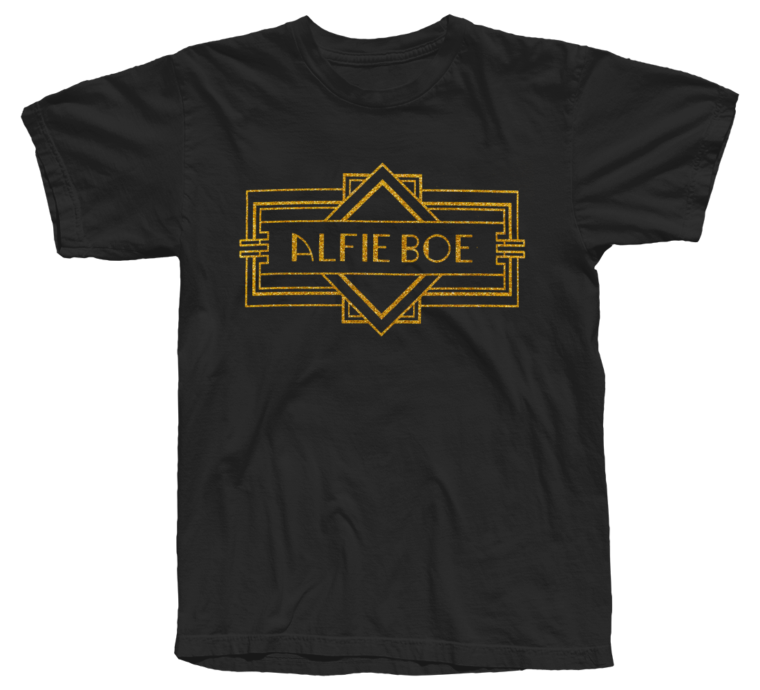 Deco Logo Black T-shirt