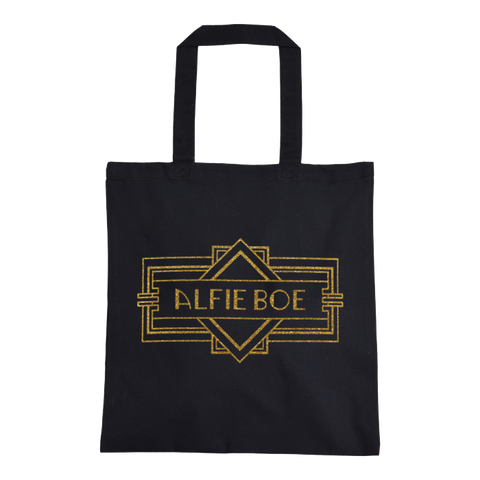 Deco Tote Bag - Black
