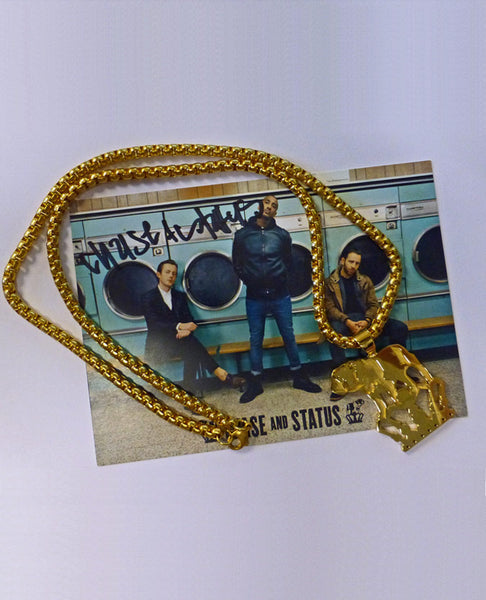 Chase and Status Limited Edition Logo Pendant (Yellow Gold)