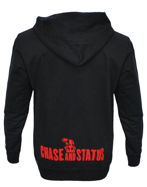 Chase and Status (Bulldog Logo) Black Hoodie
