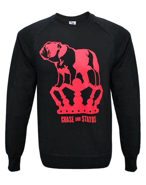 Chase and Status (Bulldog Logo) Black Sweatshirt