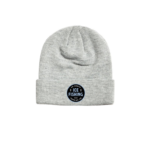 Light Grey Ice Fishing Beanie