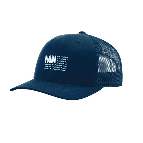 Land of 10,000 Navy Snapback