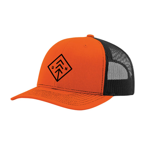 Orange Diamond Snapback