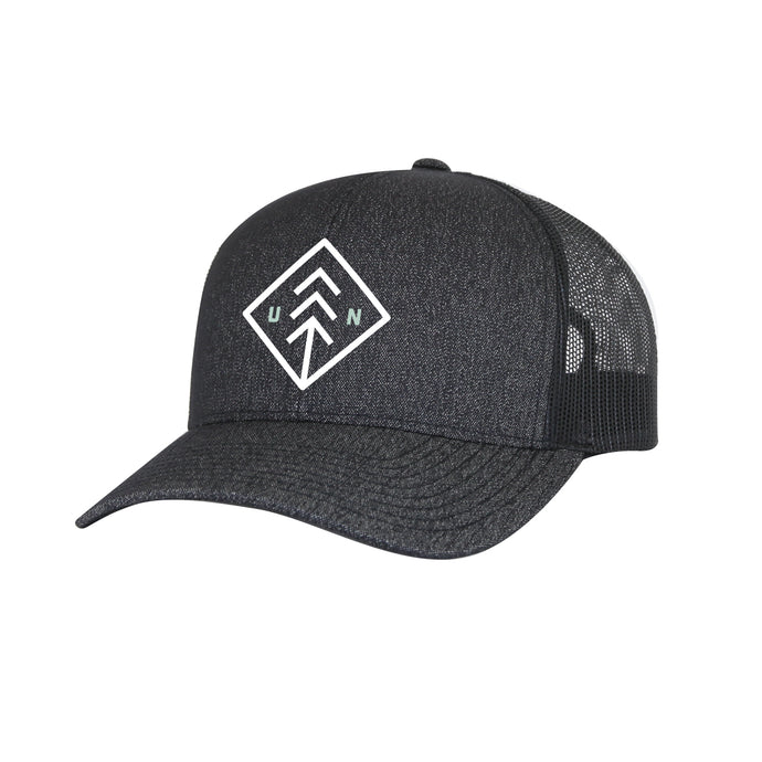 Charcoal Mesh Trucker Hat Invert
