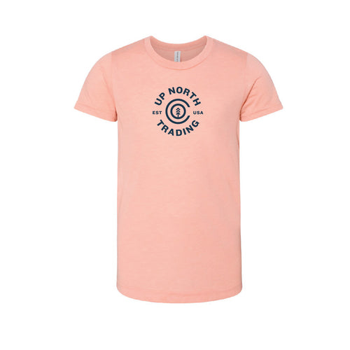 Youth Peach Copper Harbor Tee