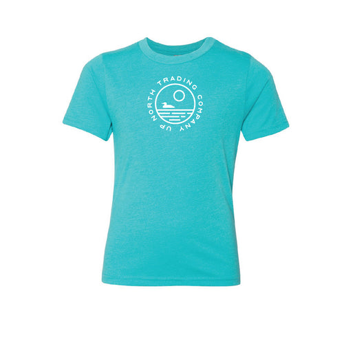 Youth Aqua Loon Lake Tee