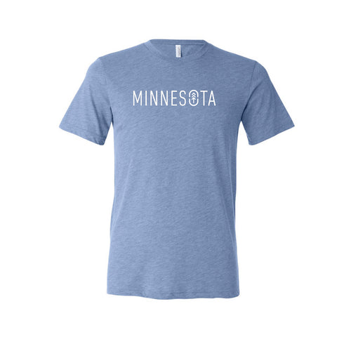 Men's Blue MN Logo Tee