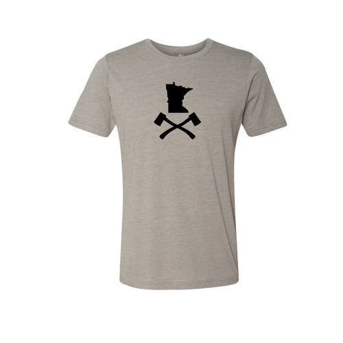 Men's Tan MN Jolly Roger Tee