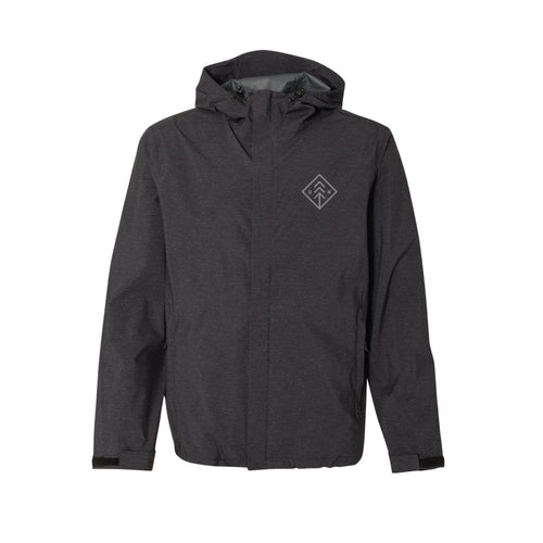 Men's Black Diamond Rain Jacket