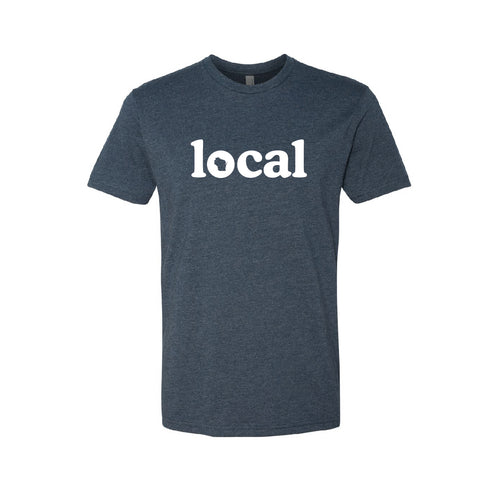 Unisex Navy WI Local Tee