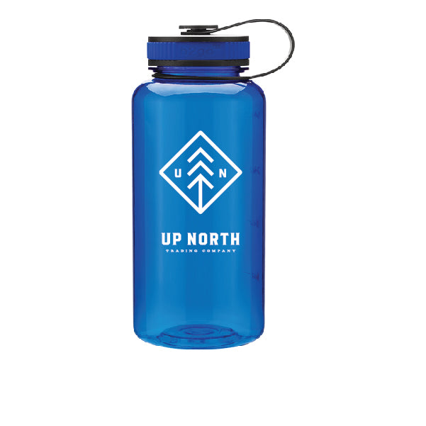 Blue Wide Mouth Water Bottle
