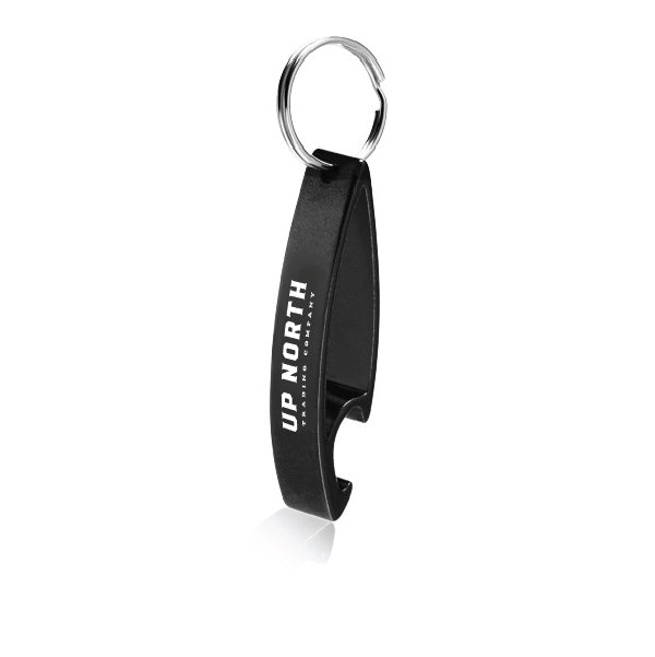 Black Bottle Opener Key Chain