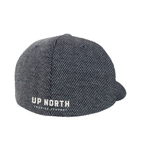 Charcoal Herringbone Flexfit Hat