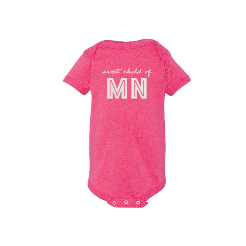 Sweet Child of MN Girls Onesie