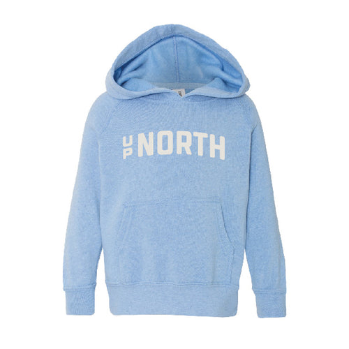 Kids Blue Up North Hoodie
