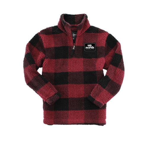 Women's Sherpa Fleece Plaid