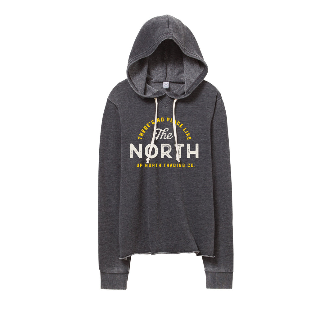 Women's No Place Like Up North Bonfire Hoodie