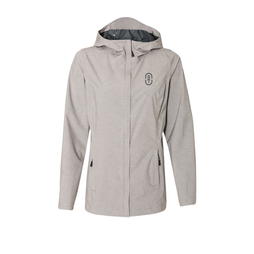 Women's Natural Rain Jacket