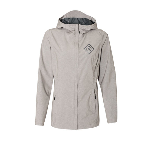 Women's Natural Diamond Rain Jacket