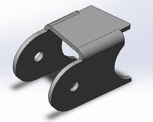 Axle Link Mount Bracket (Pair)