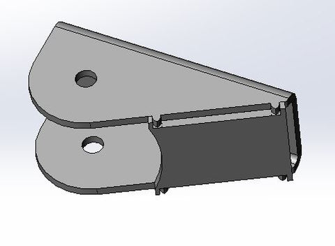 Lower Triangulated 4 Link Mount