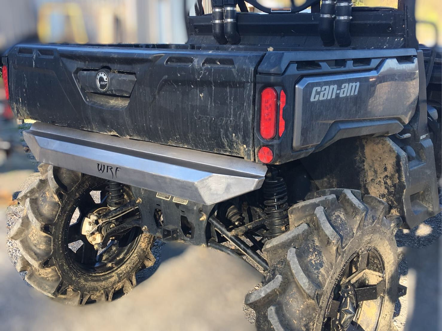 2017 CAN-AM Defender Front and Rear Cobalt Bumper Combo