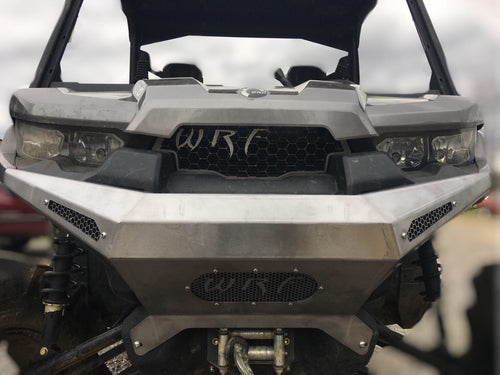 2017 Can-Am Defender Front Cobalt Bumper