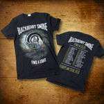 Blackberry Smoke (Wolves 2018 Euro Tour) Black Mens T-Shirt