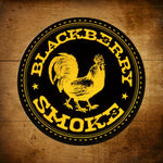 Blackberry Smoke (Rooster) Orange & Black Sticker