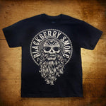 Blackberry Smoke (Beard) Black Mens T-Shirt