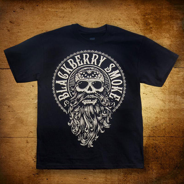 Beard Black Mens T-Shirt