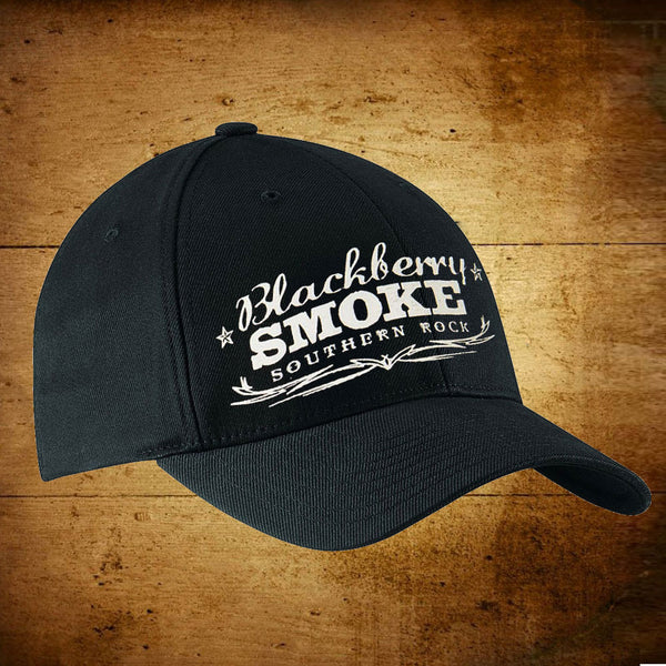 Southern Rock Black Baseball Cap
