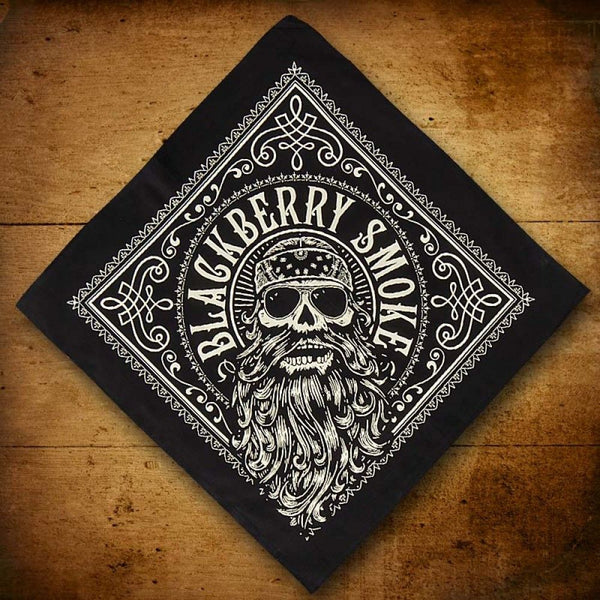 Beard Black Bandana