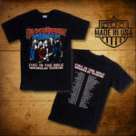 Blackberry Smoke (Fire In The Hole) Black Tour T-Shirt
