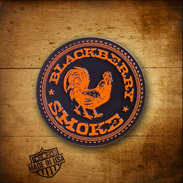 Blackberry Smoke (Rooster) Fridge Magnet