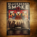 Blackberry Smoke (Like An Arrow) Tour Poster