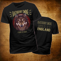 Blackberry Smoke (England 2018 Tour) Black T-Shirt