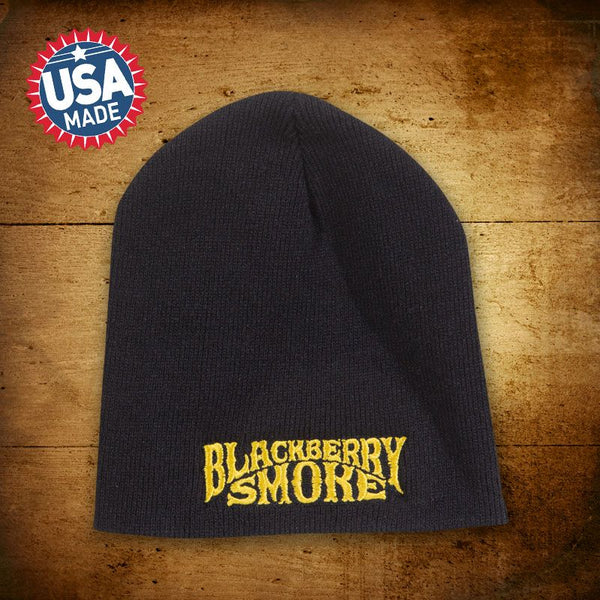 Blackberry Smoke (Gold Logo) Beanie