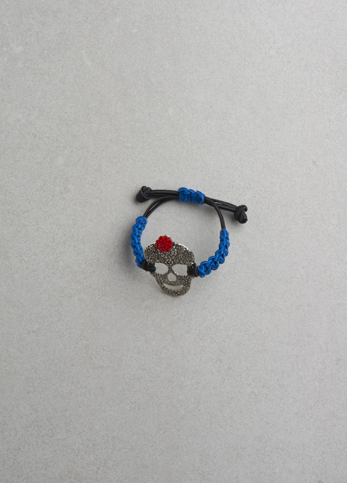 Big Skull Bracelet (Multiple Colors Available)