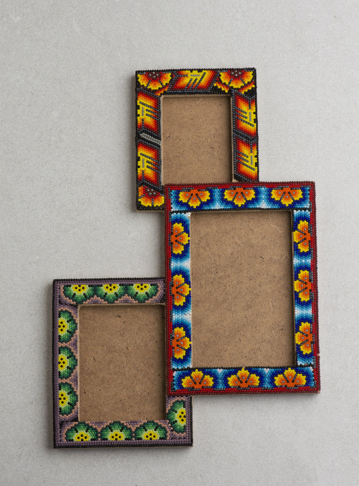 Huichol Art Picture Frame