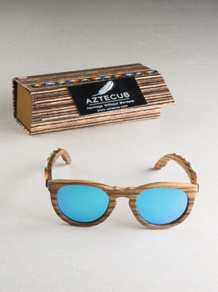 Huichol Art Sunglasses (Multiple Colors Available)