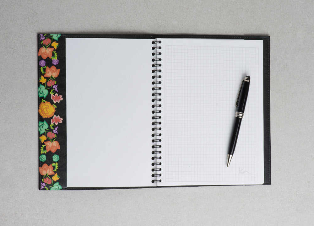 REFILLABLE LEATHER NOTEBOOK LINER (Various Styles Available)