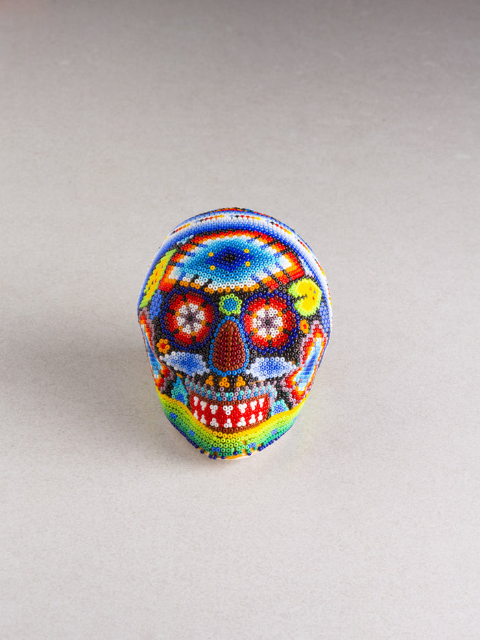 Huichol Skull Small (Multiple Colors Available)